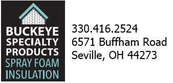 Buckeye Specialty Spray Foam Insulation Expert contact